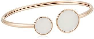 Skagen Sea Glass White -Tone Bracelet