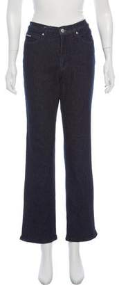 Valentino Jeans High- Rise Straight-Leg Jeans