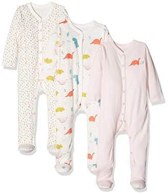 Mothercare Baby Girls' Rawrasaurus Sleepsuit,(Manufacturer Size: 56 cms)
