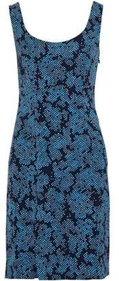 Diane von Furstenberg Printed Twill Mini Dress