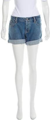 Burberry High-Rise Mini Shorts