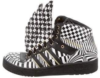 Jeremy Scott x Adidas Opart Wing Sneakers