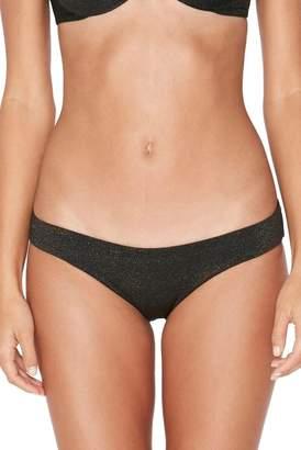 L-Space Sandy Shine on Me Metallic Bikini Bottoms