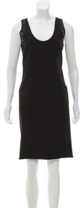Zac Posen Wool-Blend Knee-Length Dress