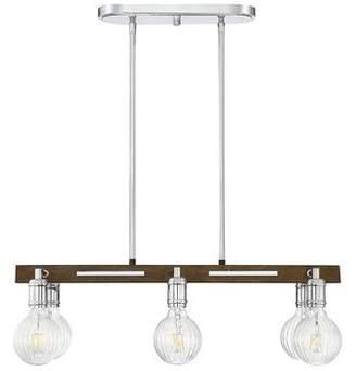 Gracie Oaks Wychwood 6-Light LED Kitchen Island Pendant