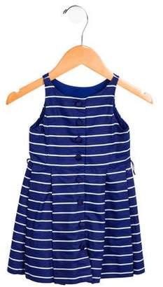 Polo Ralph Lauren Girls' Striped Pleated Dress