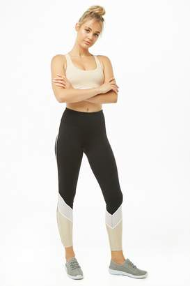 Forever 21 Active Colorblock 7/8 Leggings