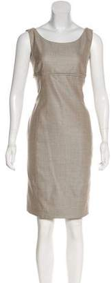 Armani Collezioni Sheath Wool Dress