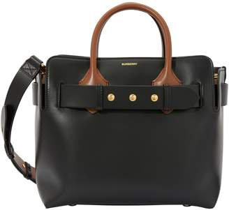 Burberry Grained calfskin tote