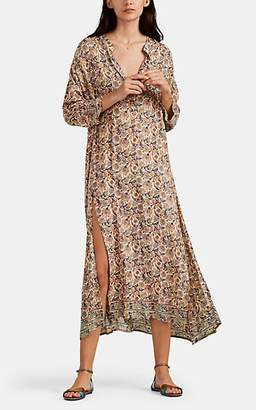 Natalie Martin Women's Isobel Floral-Print Maxi Dress - Cream