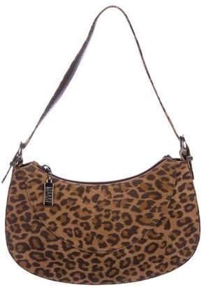 Stuart Weitzman Animal Print Shoulder Bag