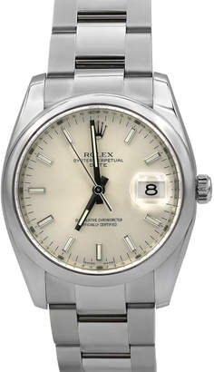 Rolex Pre-Owned 34mm Men's Bracelet Watch
