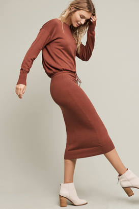 Tracy Reese Katya Sweater Maxi Dress $348 thestylecure.com