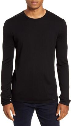 HUGO San Bastio North Cotton Blend Crewneck Sweater
