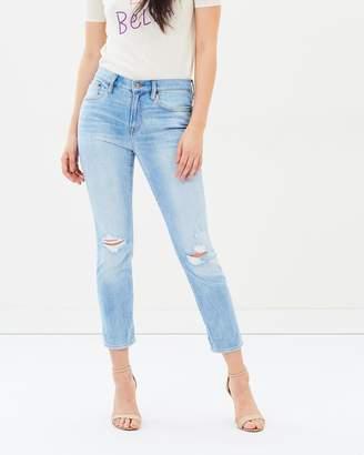 J.Crew Destructed Slimboy Jeans