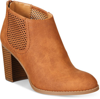 Style & Co Lanaa Perforated Booties, Only at Macy's $79.50 thestylecure.com