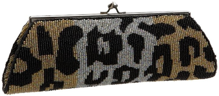 KC Malhan 04 Leopard Clutch