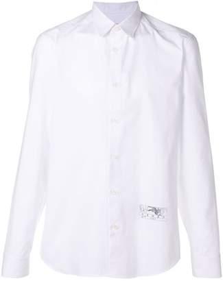 Kenzo plain button shirt