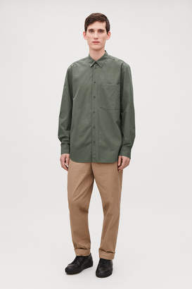 Cos COTTON SHIRT WITH POCKET