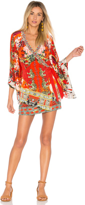 Camilla Kimono Cross Over Dress $650 thestylecure.com