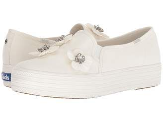Kate Spade Keds x Bridal Triple Decker Sequin Flowers