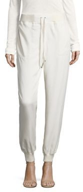 Polo Ralph Lauren Satin Jogger Pants $225 thestylecure.com