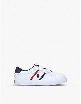Polo Ralph Lauren Geoff EZ leather trainers 1-5 years