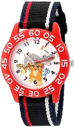 Disney Boy's 'Lion Guard' Quartz Plastic and Nylon Watch