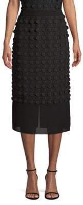 BOSS Moloo Crepe Georgette Pencil Skirt