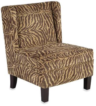 Bed Bath & Beyond Bombay® Safari Print Armless Chair