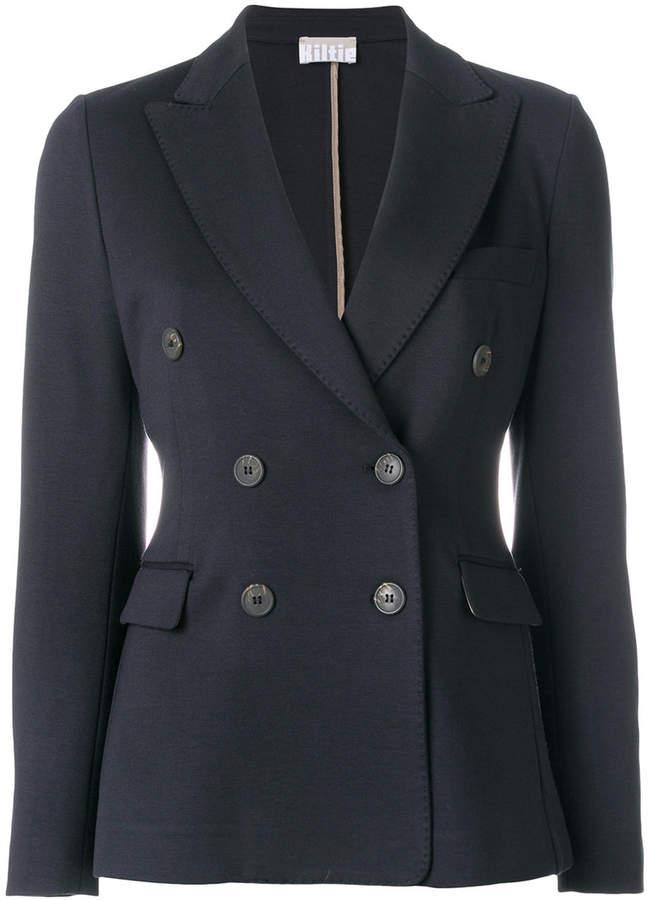 Kiltie double breasted blazer