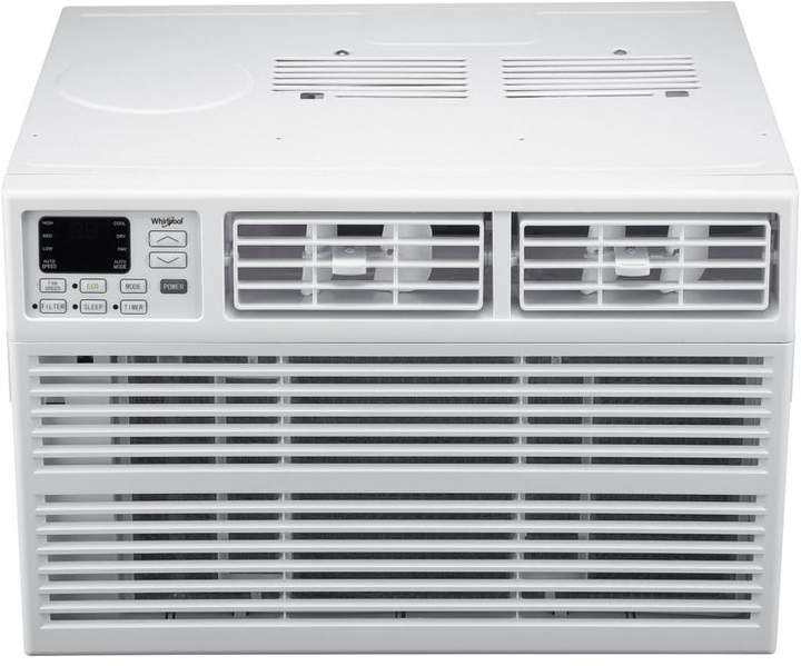 Whirlpool Energy Star 10,000 BTU 115V Window-Mounted Air Conditioner with 8-Way Louvers and Remote Control
