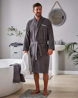 Marisota Personalised Mens Towel Robe