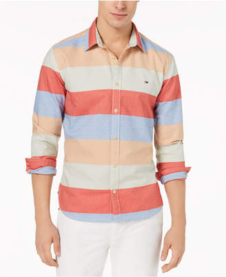 Tommy Hilfiger Men's Arthur Stripe Shirt, Created for Macy's