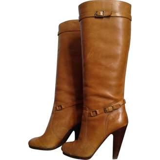 Ash Camel Leather Boots
