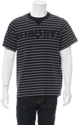 Sacai Tailored Striped T-Shirt