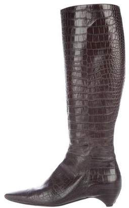 Christian Dior Flight Knee-High Boots