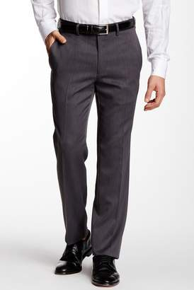 "Kenneth Cole Reaction Urban Heather Slim-Fit Flat Front Dress Pants - 29-34"" Inseam"
