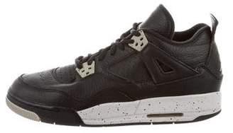 Nike Jordan Retro 4 Oreo High-Top Sneakers