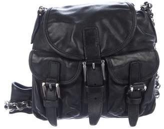Balenciaga Leather Mini Crossbody Bag
