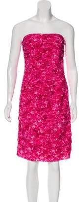 Michael Kors Sleeveless Cocktail Dress