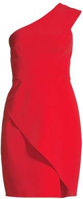 BCBGMAXAZRIA One-Shoulder Asymmetrical Cocktail Dress