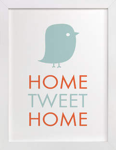 Home Tweet Home Children's Art Print