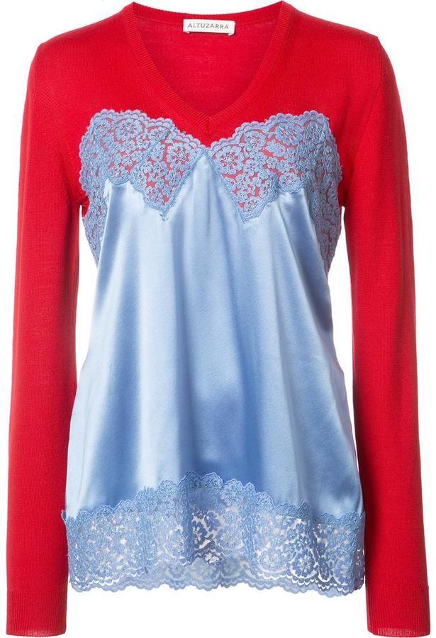 Altuzarra v-neck blouse