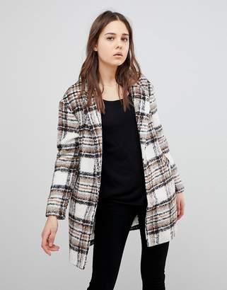 Glamorous Check Coat