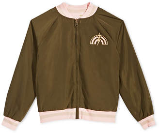 Epic Threads Big Girls Reversible Baseball Jacket, Created for Macy's