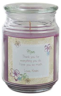 For Her Scented Glass Candle Jar