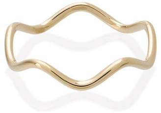 Sabine Getty Yellow Gold wave ring