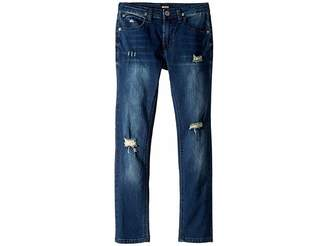 Hudson Jude Skinny French Terry Jeans in Remake (Big Kids)