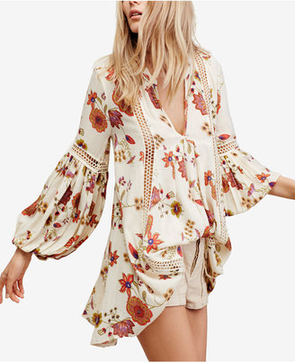 Free People Just The Two Of Us Printed Shift Dress $118 thestylecure.com